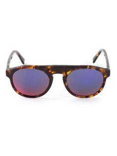 Shop RETRO SUPER FUTURE 'Racer Montana' sunglasses from Farfetch
