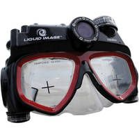 The VideoMask Series 480p 5 MP D310 Dive Mask with Camera (Mid Size) is one of the Xtreme Sport Cams from Liquid Image. It's unique dive mask with an integrated waterproof digital video camera that also shoots 5MP still photos. It operates to a depth of 33′ (10m), and eliminates the need to hand carry an underwater camera. - See more at: http://go2ebuy.com/?product=scuba-underwater-digital-camera-diving-mask-5mp-720hd-d310