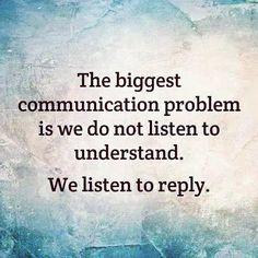 #Communication #Gap #Noise
