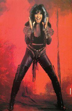 Master Hellion Blackie Lawless of W.A.S.P. #BlackieLawless #wasp