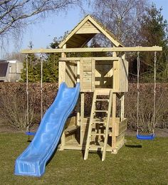 Speeltoestel rondzit Tuinhout Neerkant Childrens Garden Furniture, Backyard Play Equipment, Kids Outdoor Playground, Swing Set Plans, Wooden Climbing Frame, Backyard Trampoline, Playhouse Outdoor, Weekend House, Kids Play Area