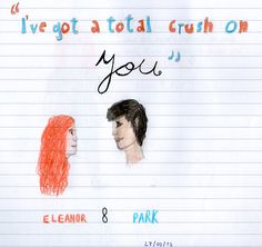 The title is from a song I listened in a fanvid, and the characters are from the amazing, perfect and lovely book: Eleanor  Park, by Rainbow Rowell :)