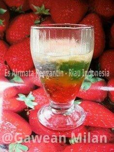 Ncc Jajan Tradisional Indonesia Week Es Airmata Pengantin Pengantin Minuman Indonesia