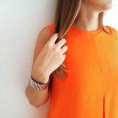 Orange is the new black ! #été #mango #OISNB #oserastu?