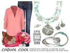 Casual Cool - See these pieces online at (www.theyouniquearchitect.com). Casual Cool necklace pg 19, Cairo watch pg 125, Go To becaelets pg 15, Retired - Flirty bracelets and Always ring.
