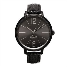 Leather Band Watches for Women | Mimco - Ilsa Timepeace
