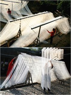 People are making #noodles in China