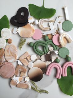 Polymer Clay Crafts, Polymer Clay Earrings, Web Pics, Organic Living, Diy Stuff, Neutral, Hobbies, Craft Ideas, Crafty