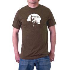 Sherlock Holmes T-shirt London Skyline . Benedict by SillyTees