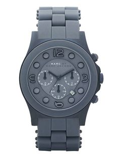 Marc by Marc Jacobs Watches   Unisex Round Blue Watch