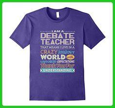 Mens Debate Teacher Fantasy World Unrealistic Expectations Tee XL Purple - Fantasy sci fi shirts (*Amazon Partner-Link)