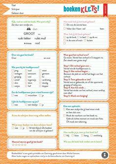 Een keer heel anders een boek nabespreken. Kijk op www.gezinnig.nl