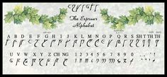 Espruar was the alphabet of the silver elves. Around 1357 DR, most elves across Faerûn used it...