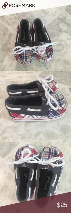 Sperry baby plaid boat shoes Sperry baby plaid boat shoes Sperry Top-Sider Shoes Baby & Walker