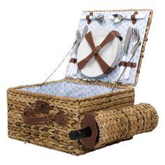 wicker basket for 4
