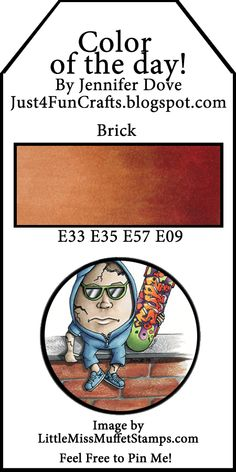 Color guide for blending with Copic Markers to make bricks. Copic Marker Color Chart, Copic Marker Art, Copic Pens, Copic Art, Copic Sketch Markers, Copics, Prismacolor, Copic Markers Tutorial, Spectrum Noir Markers