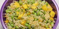 Yummy Eats, Fried Rice, Quinoa, Feta, Fries, Grilling, Salads, Mango, Ethnic Recipes