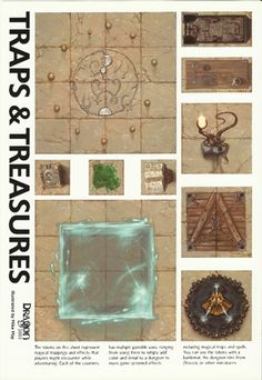 Dungeon Tiles - More Dungeon Tiles from Dragon Magazine
