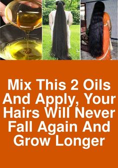 Mix these 2 oils and apply, Your hairs will never fall again and grow longer - Modern Essential Oils For Headaches, Essential Oils For Sleep, Essential Oil Diffuser Blends, Best Essential Oils, Make Hair Grow, Grow Long Hair, Diy Hair Oil, Hair Pack, Hair Again