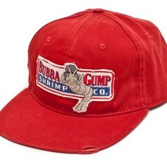 Bubba Gump Shrimp CO Embroidered Distressed front
