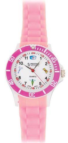You need a sturdy watch with a nursing theme! Prestige Medical Braided Scrub Watch from #allheart.