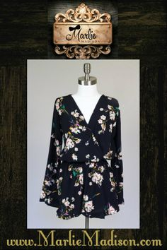 The most adorable romper EVER! http://www.marliemadison.com/dresses/rompers