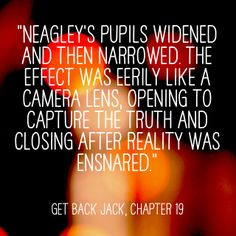 """Quote of the Day from my Jack Reacher thriller book series. This one's from """"Get Back Jack"""", Chapter 19. www.dianecapri.com"""