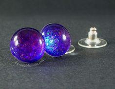 Gingerkitty nail polish jewelry: Nfu.Oh 51 ear studs