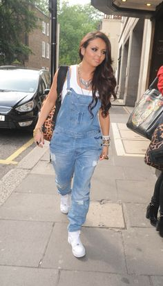 @Jesy Nelson  I think your overalls are awesome I own some but I look horriable in them