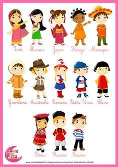 costumes traditionnels : clichés Plus
