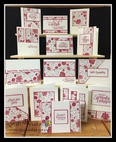 Tania Johnson : Stamp Haven: Painted Seasons - One Sheet Wonder, Sale-a-bration Stampin' Up! Card Making Templates, Card Making Tutorials, Card Making Techniques, Making Ideas, One Sheet Wonder, Cardmaking And Papercraft, Stamping Up Cards, Scrapbook Cards, Scrapbooking