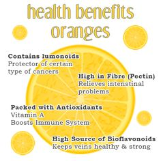 Nutrients in orange fruit are plentiful and diverse. Orange is low in calories, contains no saturated fats or cholesterol, but rich in vital anti-oxidants, vitamins