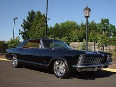 1965 Buick Riviera!  Whether you're interested in restoring an old classic car or you just need to get your family's reliable transportation looking good after an accident, B & B Collision Corp in Royal Oak, MI is the company for you!  Call (248) 543-2929 or visit our website www.bandbcollisioncorp.net for more information!