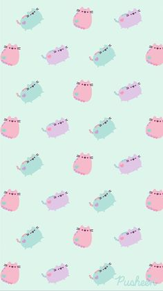 Pusheen the cat floral pastels spring iphone wallpaper Holiday Iphone Wallpaper, Best Iphone Wallpapers, Cat Wallpaper, Kawaii Wallpaper, Cute Cartoon Wallpapers, Cellphone Wallpaper, Iphone Backgrounds, Vintage Flowers Wallpaper, Flower Wallpaper