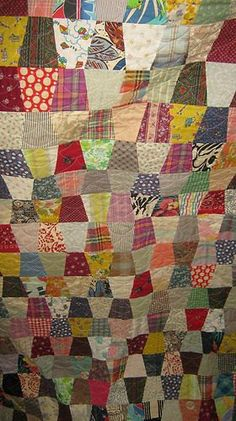 Antique Tumbler Quilt by GrammasWay on Etsy, $150.00