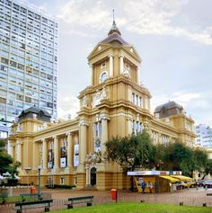 RIO GRANDE DO SUL (South, Capital Porto Alegre) - Museu de Arte do Rio Grande do Sul.