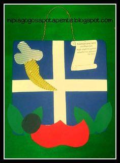 Αποτέλεσμα εικόνας για 25η μαρτιου κατασκευες Greek Independence, 28th October, Always Learning, Spring Crafts, Kindergarten, Crafts For Kids, Teacher, Symbols, Letters