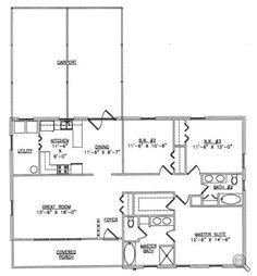 Steel Buildings With Living Quarters Floor Plans