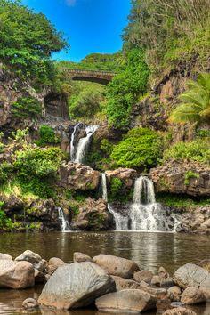 Seven Sacred Pools, Hana, Maui. Beautiful, I'd go back in a second!