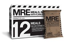 Meal Kit Supply Premium Fresh MREs Meal with Heaters (12-Pack) $129.95