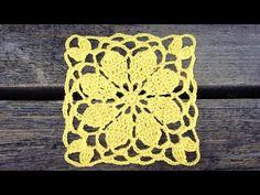 Thread Crochet, Diy Crochet, Crochet Stitches, Crochet Coaster Pattern, Crochet Edging Patterns, Lace Doilies, Crochet Doilies, Crochet Videos, Lace Flowers