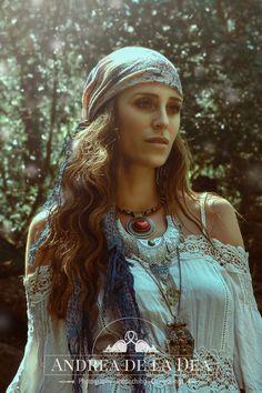 "My ""Bohemian Gipsy Princess"". Photography & Retouch: Andrea de la Dea. https://www.instagram.com/andrea_de_la_dea/  #Boho #Bohemia #Bohemian #Hippie #Ethno #Flowerpower #gipsy #jewelery #vintage #style"