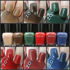 Zoya Cashmere Nail Polish Collection - Review
