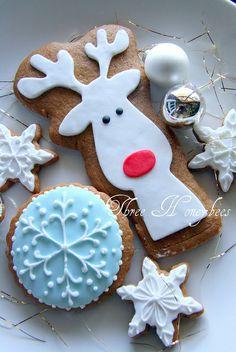 Rudolph Cookies. #christmas #christmas cookies #cookies #Christmas baking