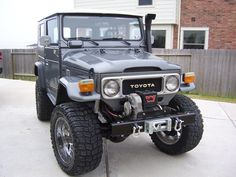 1976 Toyota Land Cruiser on Celebrity Life Style  Fondo Toyota Land Cruiser Fj40