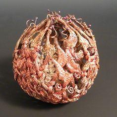 Vessel No. 197 C Formatting   Copper wire (Artist: Lee Sipe)