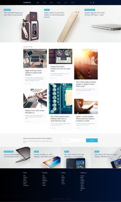 Joomla Theme , Electronics Review