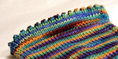 How to Knit a Picot Hem