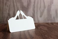 Place Cards High Heels Set of 50 by tiffzippy on Etsy, $16.50  (Love these!)