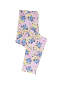Universal Studios Despicable Me Minion Leggings at F&F Clothing